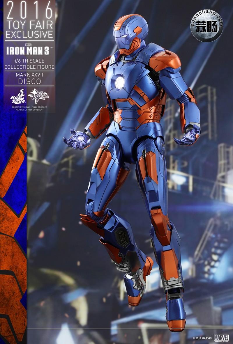 Hottoys 新品: 《钢铁侠3》- 钢铁侠MK27 Disco迪斯科 【会场限定】 模玩 第6张