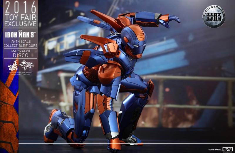 Hottoys 新品: 《钢铁侠3》- 钢铁侠MK27 Disco迪斯科 【会场限定】 模玩 第10张