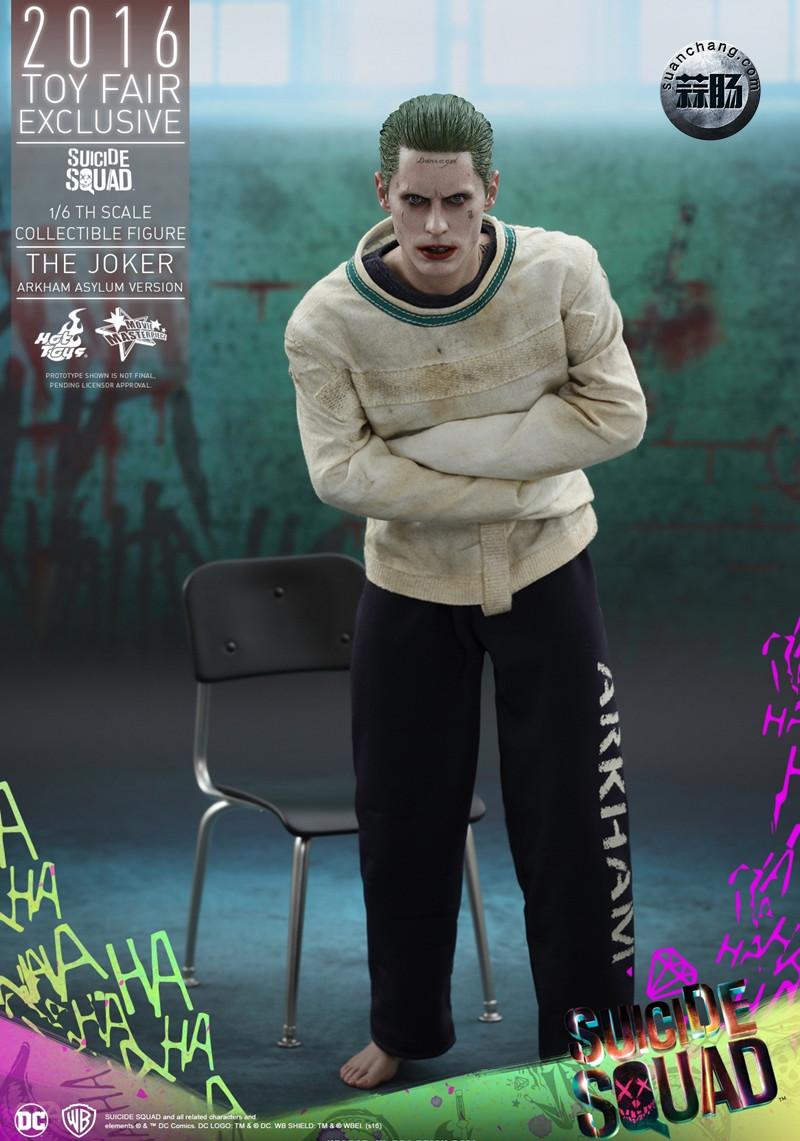 Hottoys 新品:《自杀小队》 小丑JOKER- 阿甘疯人院版【会场限定】 模玩 第2张