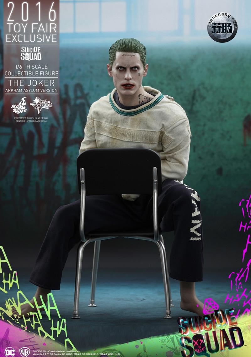 Hottoys 新品:《自杀小队》 小丑JOKER- 阿甘疯人院版【会场限定】 模玩 第5张