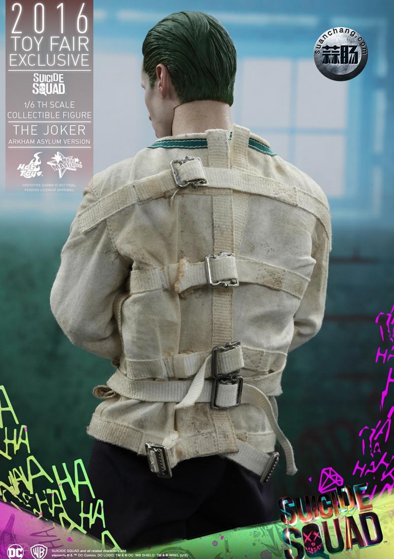 Hottoys 新品:《自杀小队》 小丑JOKER- 阿甘疯人院版【会场限定】 模玩 第14张