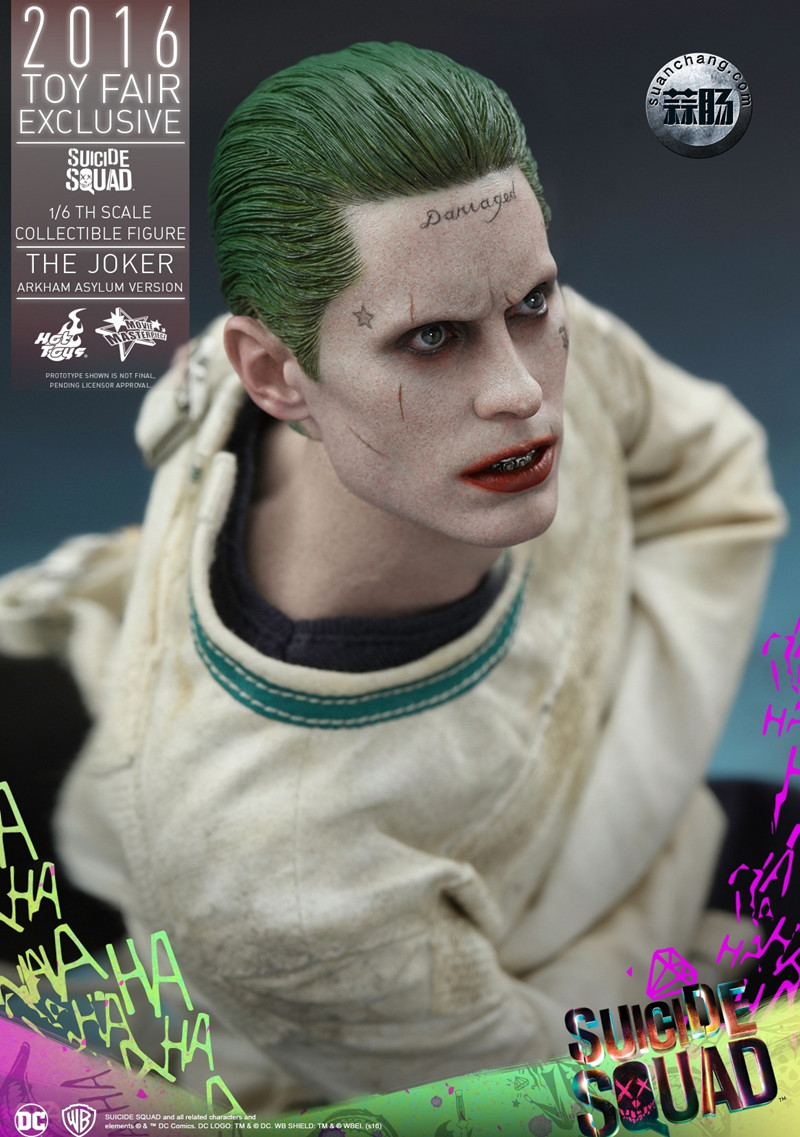 Hottoys 新品:《自杀小队》 小丑JOKER- 阿甘疯人院版【会场限定】 模玩 第7张