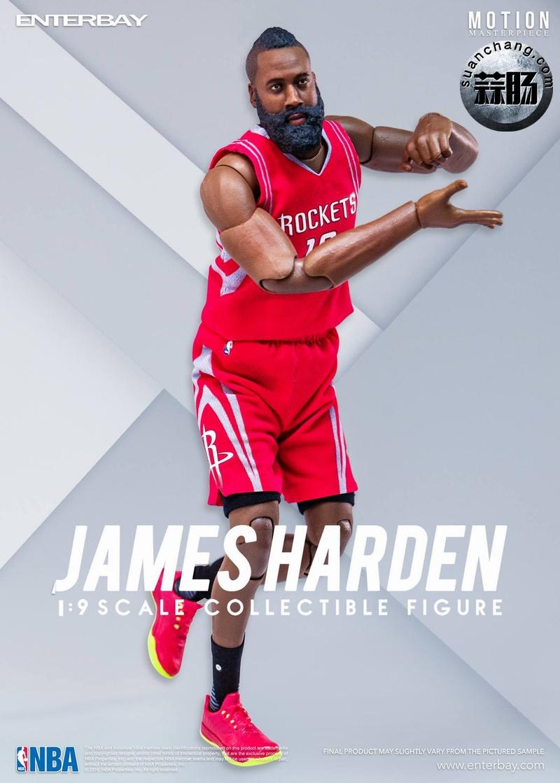 Enterbay 新品NBA球星系列- James Harden詹姆斯·哈登 模玩 第7张