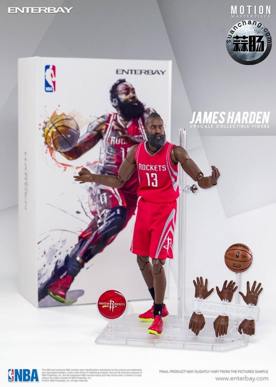 Enterbay 新品NBA球星系列- James Harden詹姆斯·哈登 模玩 第9张