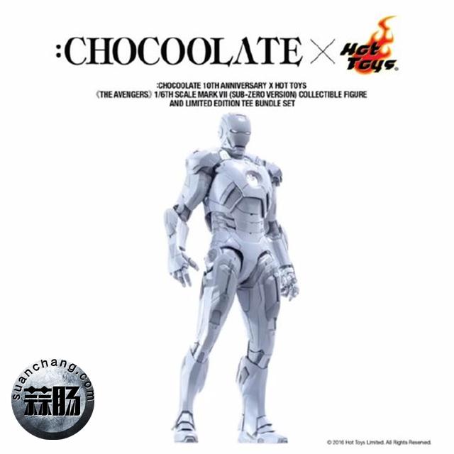HOTTOYS合金MK6开始预定 巧克力限定白色mk7将要来袭 模玩 第7张