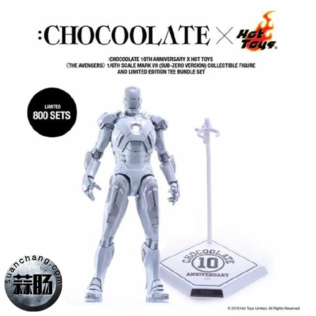 HOTTOYS合金MK6开始预定 巧克力限定白色mk7将要来袭 模玩 第9张
