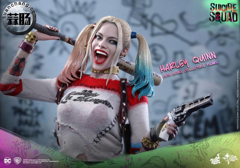 HotToys新品MMS383《自杀小队》小丑女-哈莉.奎茵 模玩 第12张