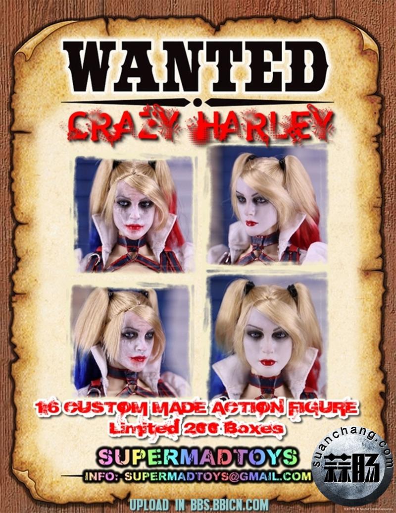 SUPERMAD TOYS——小丑女疯狂的哈莉 模玩 第11张