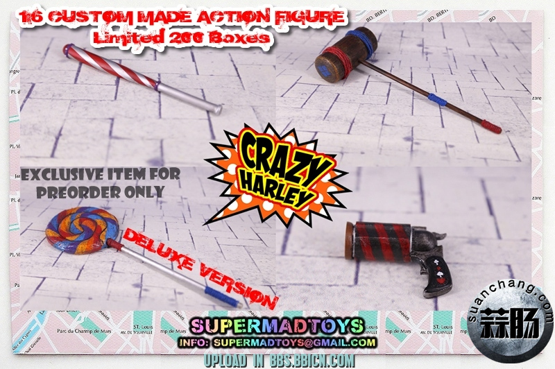 SUPERMAD TOYS——小丑女疯狂的哈莉 模玩 第13张