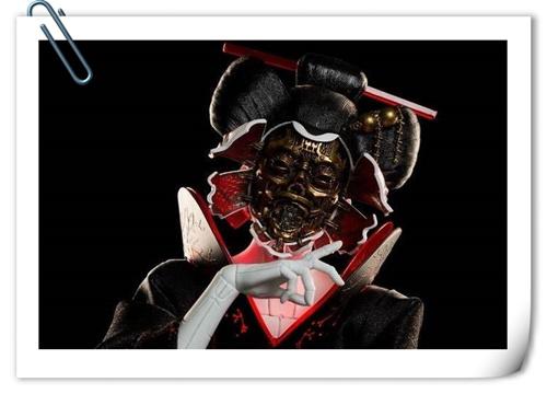 "WETA 推出 真人电影版《攻壳机动队》雕像 ""少校""与机器杀手""艺妓"""