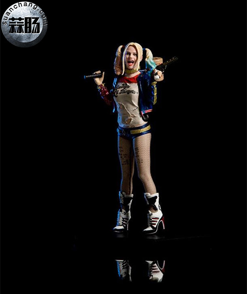 Iron Studios  推出 DC Comics  电影自杀突击队   1/10 比例小丑女 模玩 第2张