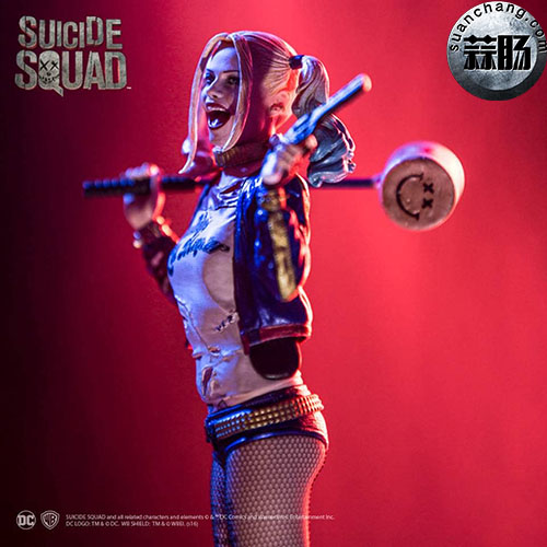 Iron Studios  推出 DC Comics  电影自杀突击队   1/10 比例小丑女 模玩 第3张