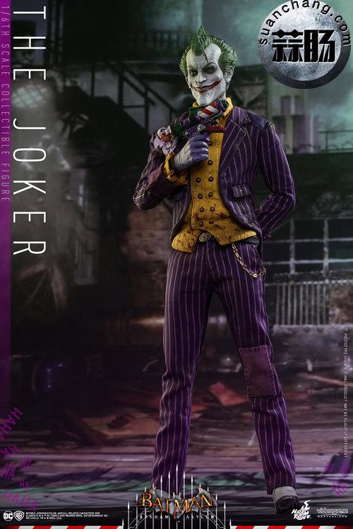 霸占游戏系列?小丑再度来袭——Hottoys新品《蝙蝠侠:阿甘疯人院》-小丑JOKER官图发布 模玩 第1张