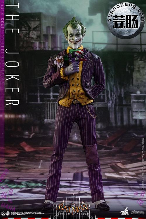 霸占游戏系列?小丑再度来袭——Hottoys新品《蝙蝠侠:阿甘疯人院》-小丑JOKER官图发布 模玩 第2张