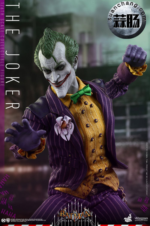 霸占游戏系列?小丑再度来袭——Hottoys新品《蝙蝠侠:阿甘疯人院》-小丑JOKER官图发布 模玩 第6张