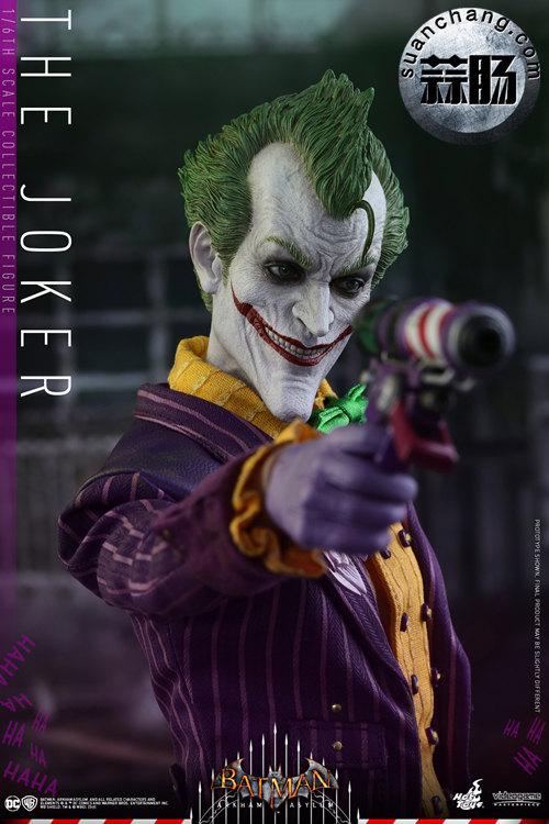 霸占游戏系列?小丑再度来袭——Hottoys新品《蝙蝠侠:阿甘疯人院》-小丑JOKER官图发布 模玩 第8张