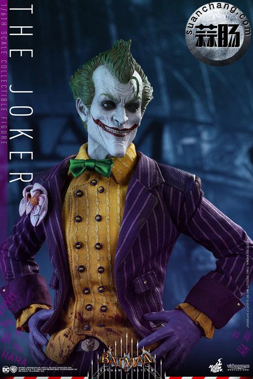 霸占游戏系列?小丑再度来袭——Hottoys新品《蝙蝠侠:阿甘疯人院》-小丑JOKER官图发布 模玩 第7张