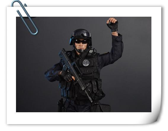 SoldierStory新品:1/6 北京蓝剑突击队 - Blue Steel Commandos SWAT