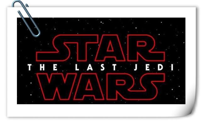 《星球大战:最后的绝地武士》正式片名公布 并于今年上映?