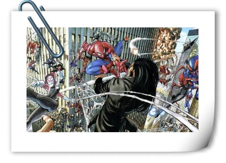 蜘蛛侠集合!《一拳超人》漫画家构图还是那么厉害!