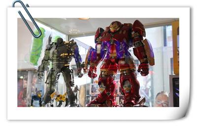 第十八届中国国际模型展览会现场报道  模型盛会大饱眼福!