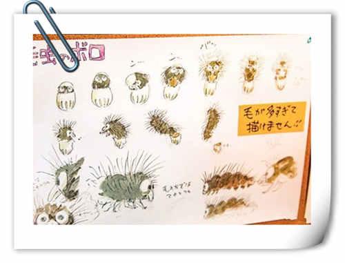 宫老福利向~~宫崎骏短片CG动画新作《毛毛虫菠萝》预定7月面世啦!