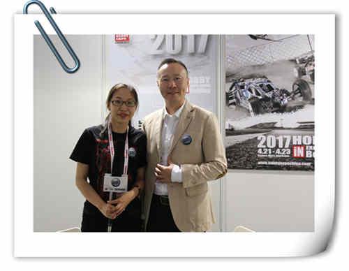 2017年中国国际模型博览会 主办方 黄智勇 总裁 的专访