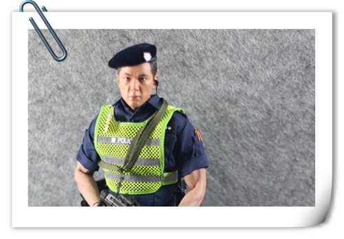 SS(SoldierStory)2017北京会场限定版本 ASU 香港机场特警 (1:6)开箱 简评