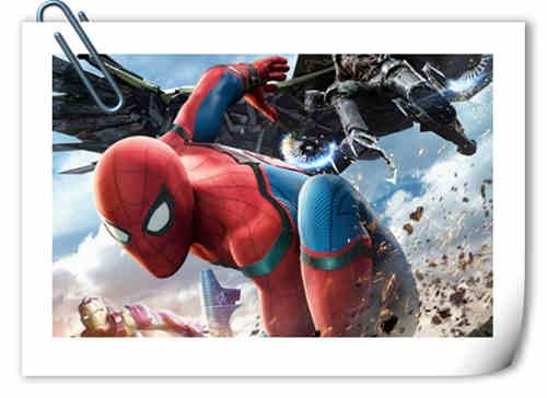 《蜘蛛侠:英雄归来》首曝极清正式海报 同时公布第三支官方预告片