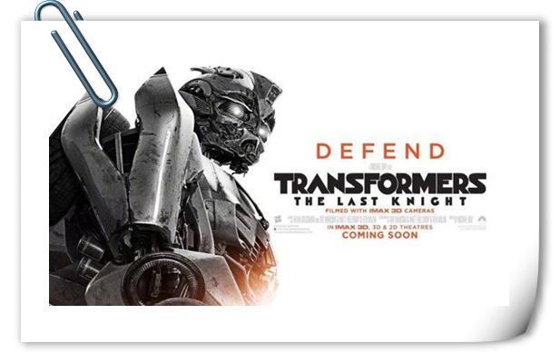 殊死之战即将开启!《变形金刚5》全新酷炫角色海报公开!