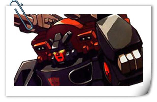 变形金刚G1系列人物介绍 后路
