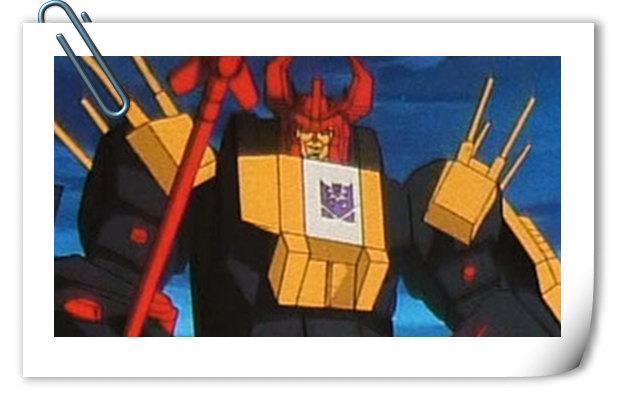 变形金刚G1系列人物介绍 暗黑萨克