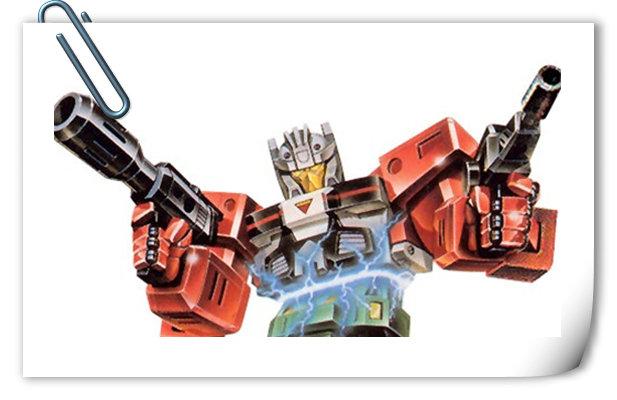 变形金刚G1系列人物介绍 冲撞、钉子