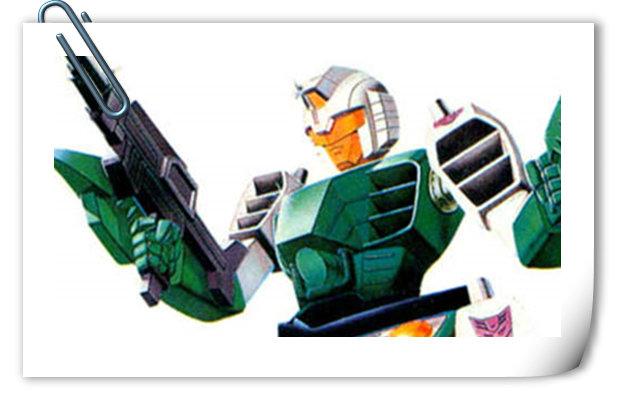 变形金刚G1系列人物介绍 高脚怪