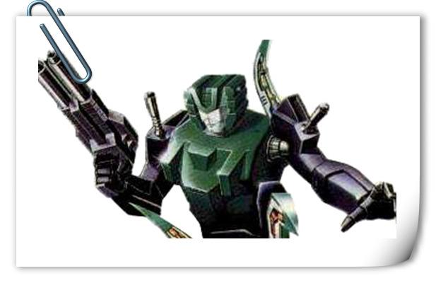 变形金刚G1系列人物介绍 铁甲怪