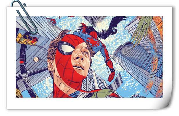 就是这么任性 《蜘蛛侠:英雄归来》全新漫画风正式海报公开!