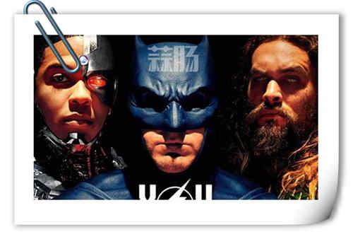 《正义联盟》海报及预告片来袭 超燃劲爆场景