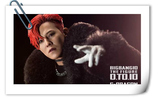 迷妹快来看!Enterbay 新品:1/6BIGBANG权志龙十周年纪念版