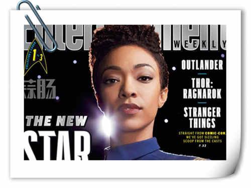 《星际迷航》美剧新番卡斯登上美国《娱乐周刊》