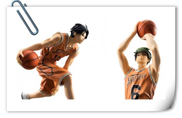 看,是板车组!『黑子的篮球』队服版绿间真太郎&高尾和成手办登场!
