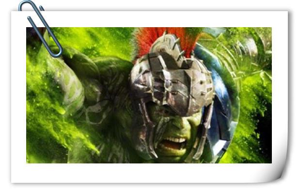 绿巨人发型亮了 《雷神3》全新电视预告片含超多新镜头!
