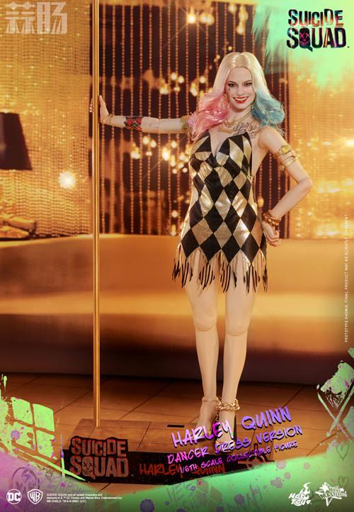 Hot Toys 《自杀特攻:超能暴队》小丑女 (金色舞衣版) 1:6比例珍藏人偶 模玩 第1张