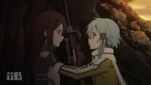 """枪与剑形成的""""二刀流"""" 《刀剑神域》幽灵子弹篇 动漫 第9张"""
