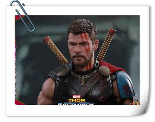 Hot Toys《雷神奇侠3: 诸神黄昏》Gladiator Thor 1:6比例珍藏人偶
