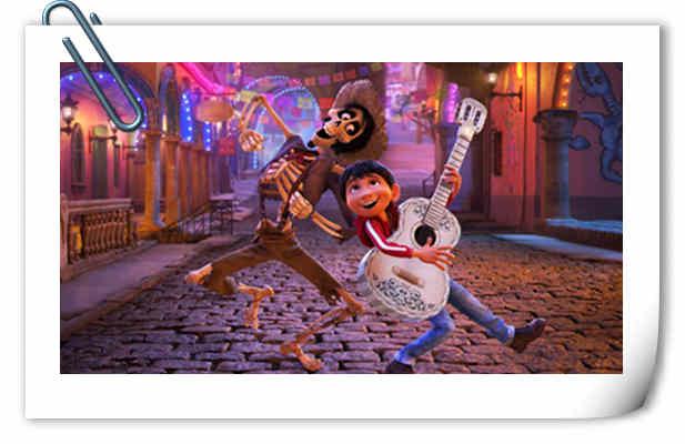 迪士尼·皮克斯新动画《寻梦环游记》发布定档海报 11月24日内地上映