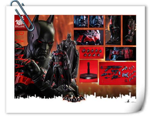 Hottoys新品:1/6 VGM29《蝙蝠侠:阿卡姆骑士》- Batman/蝙蝠侠(未来骑士限定版)