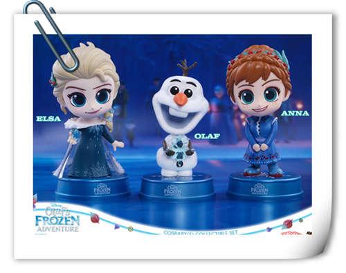 Hot Toys 圣诞呈献:《冰雪奇缘:小白的惊喜任务》COSBABY (S) 迷你珍藏人偶套装
