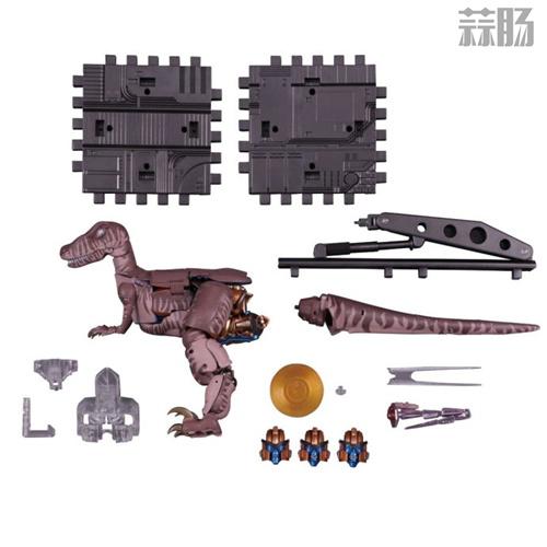 MP-41 恐龙勇士官图发布 售价260美元 变形金刚 第1张