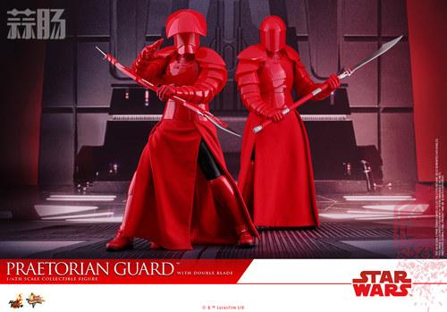《星球大战:最后绝地武士》Praetorian Guard 1:6比例珍藏人偶 模玩 第4张