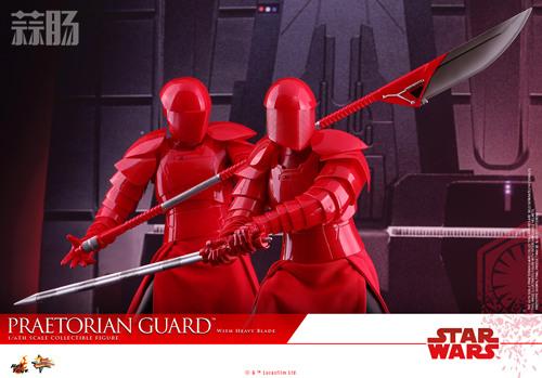 《星球大战:最后绝地武士》Praetorian Guard 1:6比例珍藏人偶 模玩 第10张